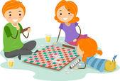 Jogo de tabuleiro — Foto Stock