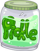 Pickle Jar — Stock Photo