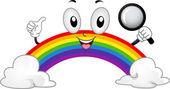 Rainbow Mascot — Stock Photo