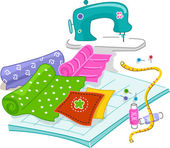 Quilting — Stock Photo