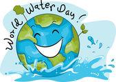Dia mundial da água — Foto Stock