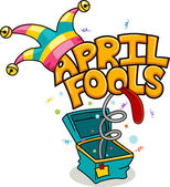 April Fools' Day — Foto de Stock