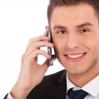 Business man making a phone call — Stock Photo
