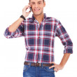 Casual man on the phone — Stock Photo #10576789