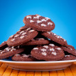 Cookies on plate - Stock Photo