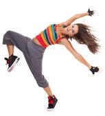 Güzel kadın dansçı — Stok fotoğraf