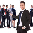 Successful happy business team — Stock Photo #9690703