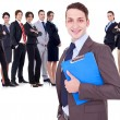 Successful happy business team — Stock Photo #9690704