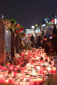 Tribute to Vaclav Havel — Stock Photo