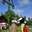 Stock Photo: Midsummer in Sweden