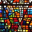 Glass stained window — Foto de Stock