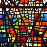 vetro macchiato finestra — Foto Stock