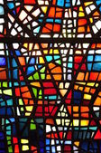 Glass stained window — Stock Photo