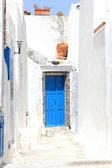 The streets of Santorini — Stock Photo