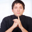 Young casual man portrait — Stock Photo #8204027