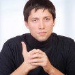 Young casual man portrait — Stock Photo