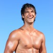 Sexy caucasian fit man — Stock Photo #8205545