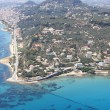 Overview on Zakynthos island - Foto Stock