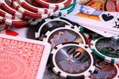 Poker game — Stockfoto