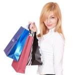 Shopping sexy woman — Stock Photo #8426641