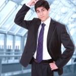 Porträt eines erfolgreichen Mannes — Stockfoto