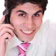 Business man on the phone — Stock Photo #8443744