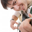 Royalty-Free Stock Photo: Man with guitar