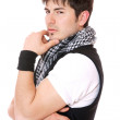 Young casual man portrait — Stock Photo #8462354