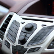 Стоковое фото: Modern luxury car interior