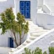 Romantic holidays - Santorini resorts - Stockfoto
