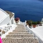 Santorini village — Stock Photo #8465023