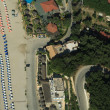 Stock Photo: Valtos beach Shot from Helicopter