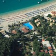 Valtos beach Shot from Helicopter — 图库照片