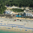 Valtos beach Shot from Helicopter — Stock Photo #8465152
