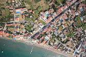 Aerial view on the island of Zakynthos — Stock Photo