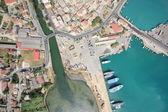 Flygfoto på ön zakynthos — Stockfoto
