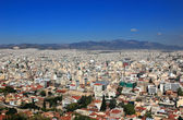 Athens view from Acropolis — Stock Photo