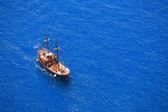 Yunanistan gezi teknesi — Stok fotoğraf