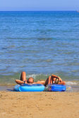 Relaxed summer vacation — Stock Photo