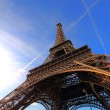 Stock Photo: The Eiffel tower Paris France