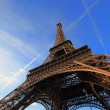 The Eiffel tower Paris France — Stock Photo #9042297