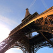 The Eiffel tower Paris France — Stock Photo #9042298