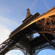 The Eiffel tower Paris France - Stockfoto