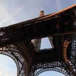 The Eiffel tower Paris France — Stock Photo