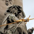 Statue on the Bridge of Alexandre III in Paris - Foto de Stock