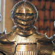 Middle age knight armor — Stock Photo