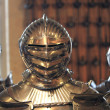 Middle age knight armor - Stock Photo