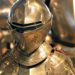 Stock Photo: Middle age knight armor