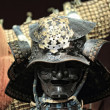 Samurai armor on black - Stock Photo