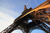 The Eiffel tower Paris France — Stock Photo